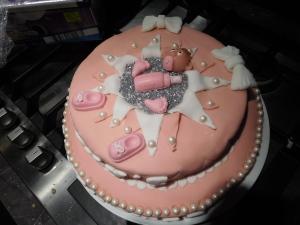 taart babyshower roxy kwalinair